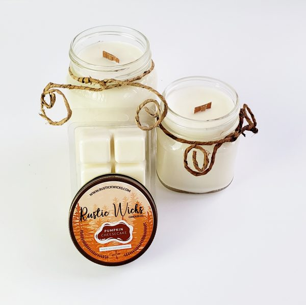 Pumpkin Candle by Rustic Wicks CAndle Co.