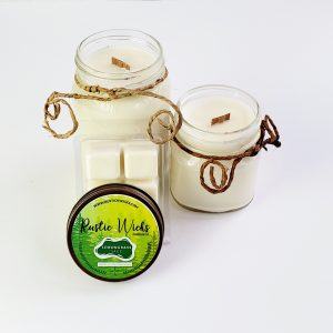 Lemongrass Candle by Rustic Wicks Candle Co.