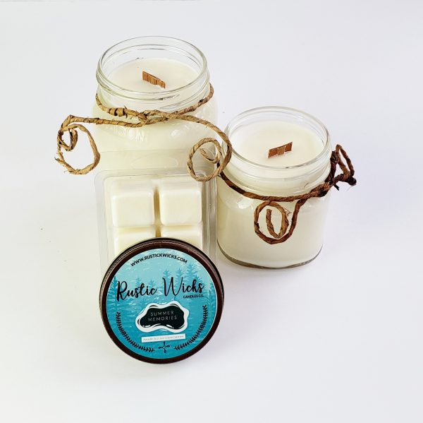 Summer Memories Soy Candle