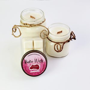 Raspberry Candle by Rustic Wicks Candle Co.