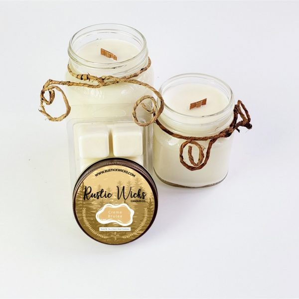 Crème Brulee Soy Candle