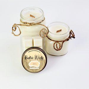Warm Vanilla Soy Candles