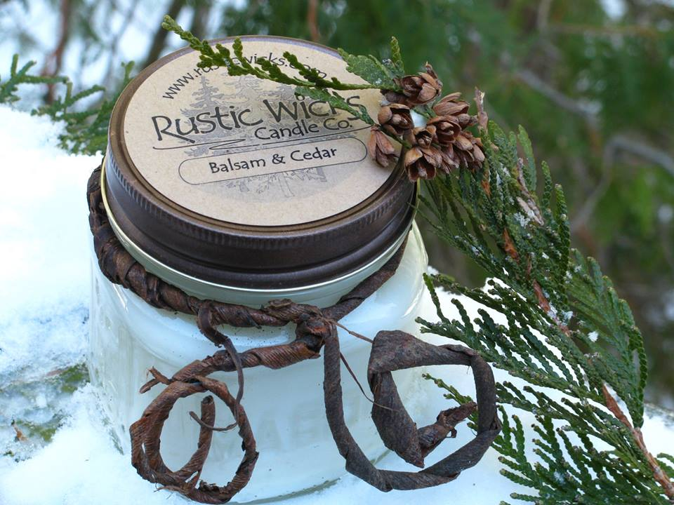 Soy Candles - Rustic Wicks Candle Co.
